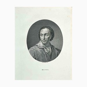 James Neagle, Portrait of A. R. Mengs, Etching, 1810