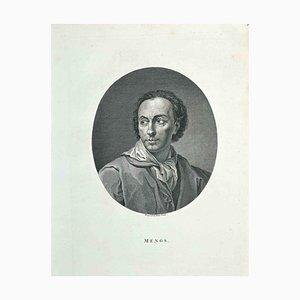 James Neagle, Portrait von AR Mengs, Radierung, 1810