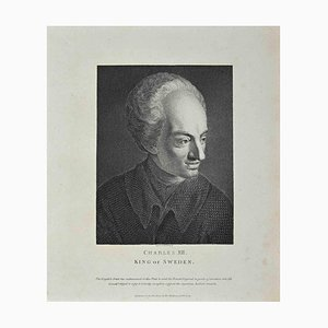 Thomas Holloway, Portrait of Charles 12nd, King of Sweden, Etching by Thomas Holloway, 1810