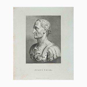 Thomas Holloway, Portrait of Julius Caesar, Etching, 1810
