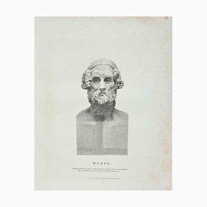Thomas Holloway, Portrait of Homer, Radierung, 1810