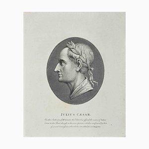 Thomas Holloway, Porträt von Julius Cäsar, Radierung, 1810