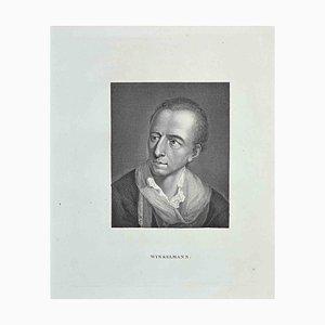 Thomas Holloway, Porträt von Winkelmann, Radierung, 1810