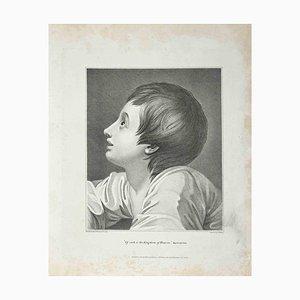 Thomas Holloway, Portrait of a Boy, Etching, 1810