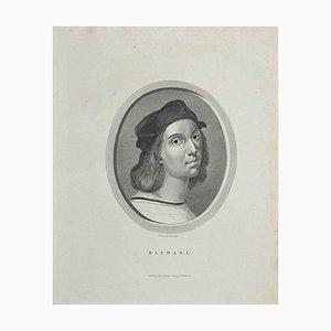 William Bromley, Portrait of Raphael, Etching, 1810