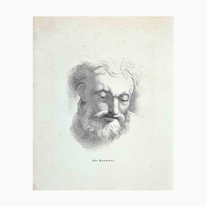 Thomas Holloway, Porträt nach Raffael, Radierung, 1810