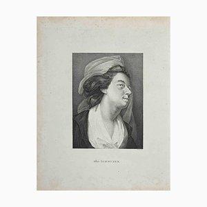 Portrait After Schmuzer, Etching, Thomas Trotter, 1810