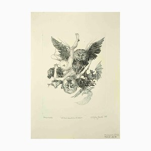 Leo Guide, Baby Vulcan, 1st State, Dessin, 1975