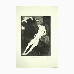 Leo Guida, The Sleeping Sybil, Print, 1970