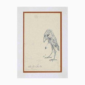 Leo Guida, Bird, Drawing, 1972