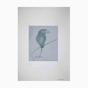 Leo Guida, Bird, Drawing, 1970