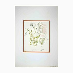 Leo Guide, The Hobby, Drawing, 1972