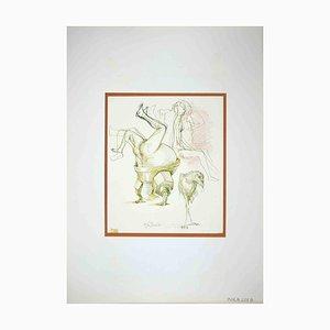 Leo Guide, The Hobby, Zeichnung, 1972