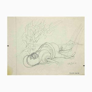 Leo Guide, Knight, Drawing, 1972