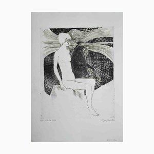Leo Guide, Sybil, Screen Print, 1972