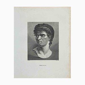 Thomas Trotter, Portrait of Brutus, Etching, 1810