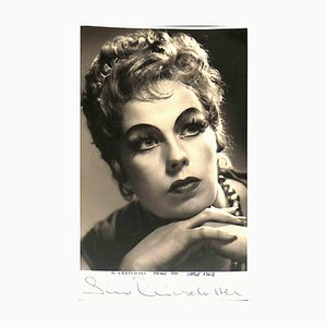 Unknown, Siw Ericsdotter Autographed Photocard, 1969