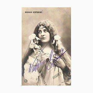 Unknown, Venturina Muggia Autographed Photograph, 1930