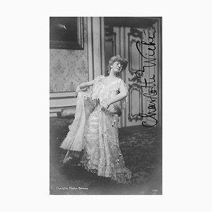 Unknown, Charlotte Wiehe Béreny Autographed Photograph, 1900