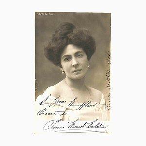 Unbekannt, Irma Monti Baldini Autogramm, 1905