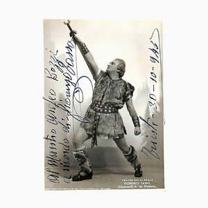 Unknown, Fiorenzo Rate Autographed Photograph, 1943