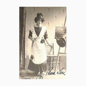 Unknown, Ada Sari Autographed Photograph, 1912