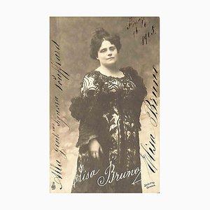 Unknown, Elisa Bruno Autographed Photograph, 1915