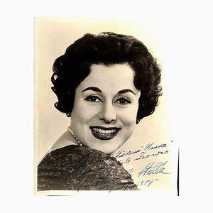 Unknown, Maria Antonietta Stella Autographed Photograph, 1961