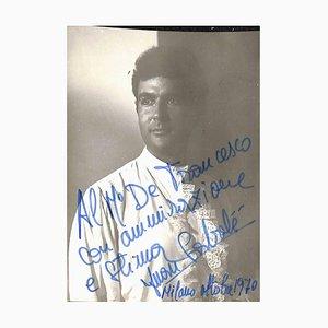 Unknown, Juan Sabaté Autographed Photograph, 1970s