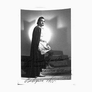 Unknown, Francesco Albanese Autographed Photograph, 1955