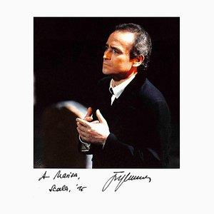 Unknown, José Carreras Autographed Photograph, 1995