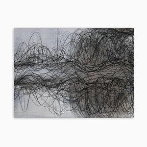Spring Breeze, Abstraktes Gemälde, 2020