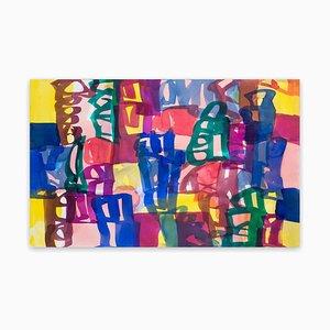 Ambassade 44, Abstraktes Gemälde des Expressionismus, 2007