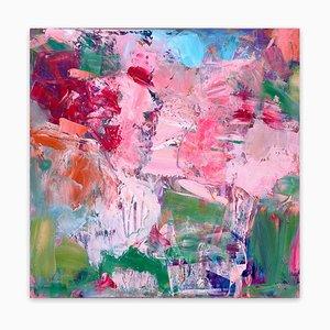 Semi Precious, Abstraktes Gemälde, 2019