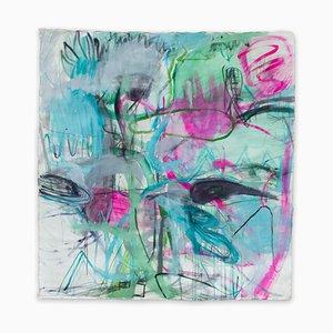 Unique Time Abolition, Abstraktes Gemälde, 2020