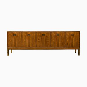 Rosewood Sideboard with Brass Detailing