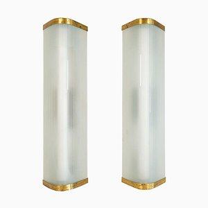 Extra große Mid-Century Modern Wandlampen von Asea, 2er Set