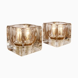Cube Lamps from Peill & Putzler, Set of 2