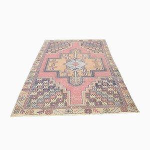 Vintage Middle East Oushak Handmade Wool Carpet