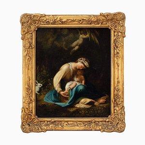 Antonio Allegri, Correggio, The Zingarella, Öl auf Leinwand