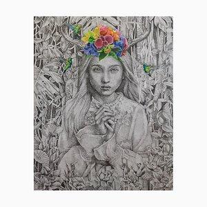 Indonesische Zeitgenössische Kunst von Nur Nurhidayat, Fausse Note, 2021