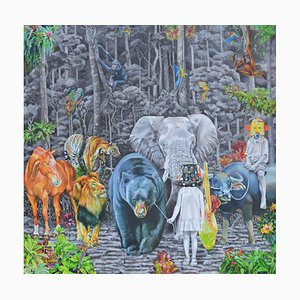Indonesian Contemporary Art by Nur Nurhidayat, Fausse Note, 2020