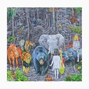 Indonesian Contemporary Art von Nur Nurhidayat, Fausse Note, 2020