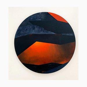 Sergiusz Powalka, Black Pond Under Rysy Mountain, A Sunset, 2021