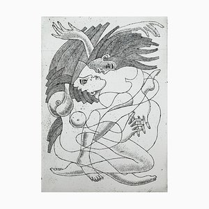 Czeslaw Tumielewicz, Kissing in Hair, 2005