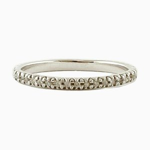 Veretta Diamond & 14 Karat White Gold Ring