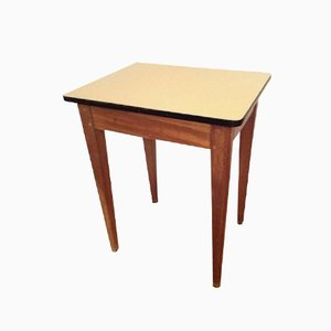 Small Vintage Oak and Formica Desk