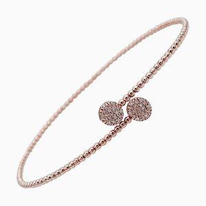 Diamant & 18 Karat Roségold Armband