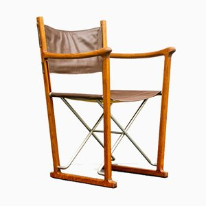 Danish Folding Chair by Peter Carf for Trip Trap