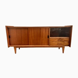 Solid Wood Sideboard, France, 1950s